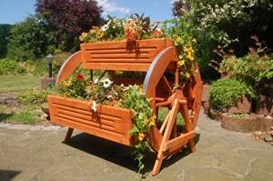 Blumenbank-Holz