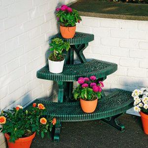Blumentreppe für Balkon
